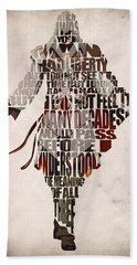 Ezio Auditore Da Firenze From Assassin's Creed 2  Beach Towel
