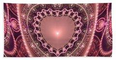 Faberge Heart Beach Sheet