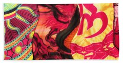 Fabric Collision Beach Towel by Alec Drake