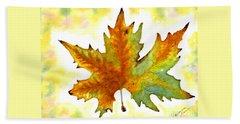 Fabulous Autumn Beach Sheet