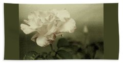 Faded Rose Beach Towel by Mary Wolf