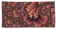 Beach Towel featuring the digital art Faerie Forest Floor Ill by Susan Maxwell Schmidt