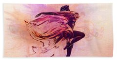 Fairy Dance Beach Towel by Lilia D