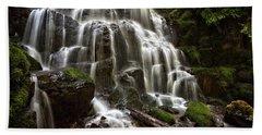 Fairy Falls Oregon Beach Sheet