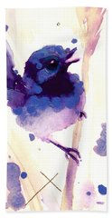 Fairy-wren Beach Towel
