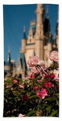 Fairytale Garden Beach Towel