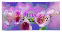 Faith-hope-love Beach Sheet