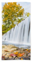 Fall At Buck Creek Beach Towel