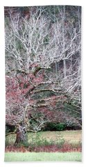 Fall At Cades Cove Beach Towel