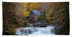 Mill At Babcock State Park Beach Towel