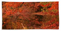 Fall Flavor Beach Towel by Lourry Legarde