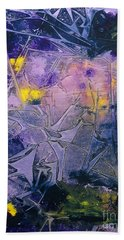 Fall Frost Dancing Beach Towel