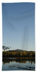 Fall In The Adirondacks Beach Sheet