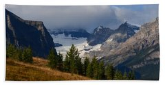 Fall In The Mountains Beach Towel by Cheryl Miller