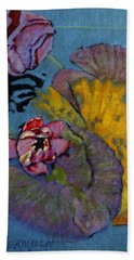 Fall Lily Beach Towel