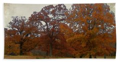 Fall On Antioch Road Beach Towel