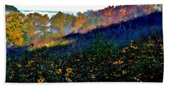Fall On Garvin Heights Beach Towel