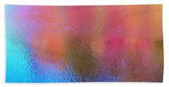 Fall Reflections In South Beach Towel