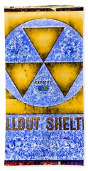 Fallout Shelter Wall 3 Beach Towel
