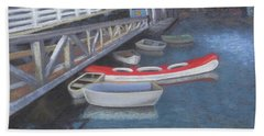False Creek Ferry Landing Beach Towel