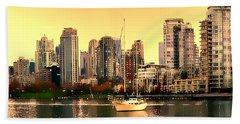 False Creek Vancouver Glow Beach Towel