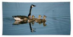 Family Outing Beach Towel by David Porteus
