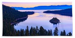 Fannette Island Sunrise Beach Towel