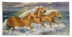 Fantasea Ponies Beach Towel
