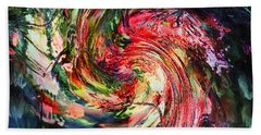 Fantasia By Night-abstract Beach Towel