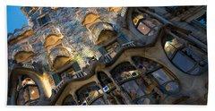 Fantastical Casa Batllo - Antoni Gaudi Barcelona Beach Towel