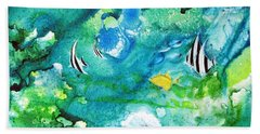 Fantasy Sea Beach Towel