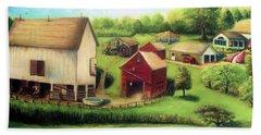 Farm Beach Sheet by Bernadette Krupa