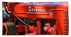 Farm Tractor 11 Beach Sheet