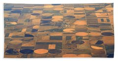 Farming In The Sky 2 Beach Towel