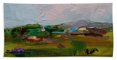 Farmland IIi Beach Towel
