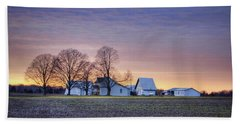 Farmstead At Sunset Beach Towel