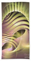 Fascinatio Lucis - Abstract Art Beach Sheet