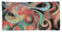 Fascination  Beach Towel by Christine Fournier