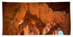 Fatehpur Sikri Photographs Beach Towels