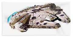 Millenium Falcon Beach Towel