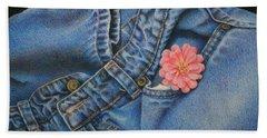 Favorite Jeans Beach Sheet by Pamela Clements
