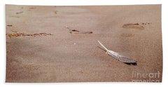 Feather On Sand Beach Sheet