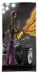 Fela Afrobeat Kuti Beach Towel
