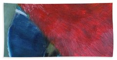 Female Eclectus Beach Towel