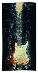 Fender Strat Beach Towel