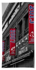 Fenway Boston Red Sox Champions Banners Beach Towel