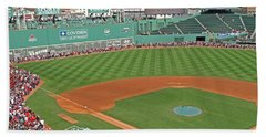 Fenway One Hundred Years Beach Sheet by Barbara McDevitt