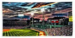 Fenway Park At Sunset Beach Sheet
