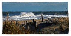 Fenwick Dunes And Waves Beach Towel