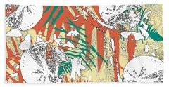 Ferns Beach Towel by Jocelyn Friis